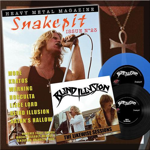 SNAKEPIT MAGAZINE (Blue Vinyl) - N°23