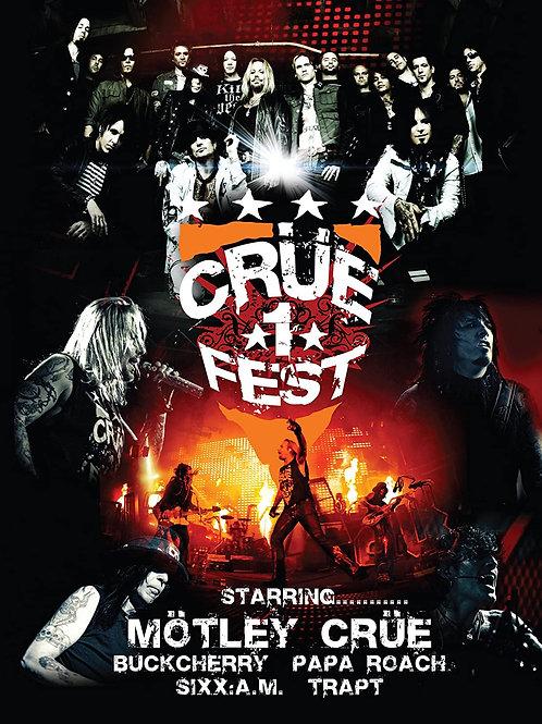 CRUE FEST 1 - DIGI 2 DVD