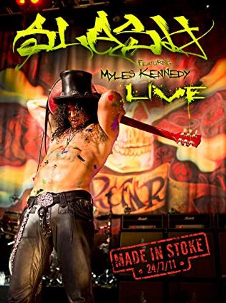 SLASH - MADE IN STOCK 24/7/11 - DVD