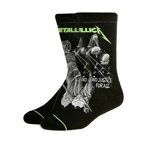 Chausettes METALLICA - And Justice For All