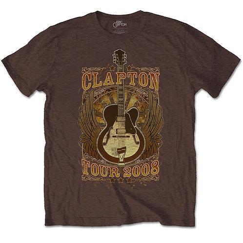 ERIC CLAPTON - Tour 2008 - Official T shirt