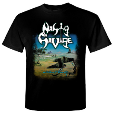 NASTY SAVAGE - Abstract Reality - Official T shirt