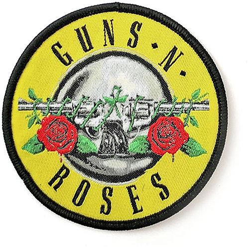 GUNS N ROSES - CERCLE - OFFICIEL WOVEN PATCH