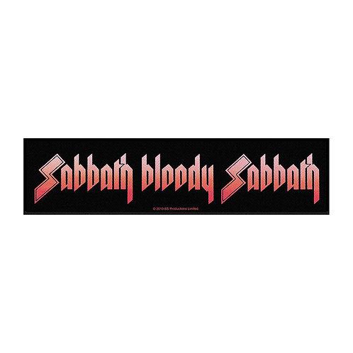 SABBATH BLOODY SABBATH - OFFICIEL WOVEN PATCH