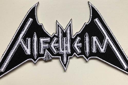 NIFELHEIM - Cut Out Logo PATCH