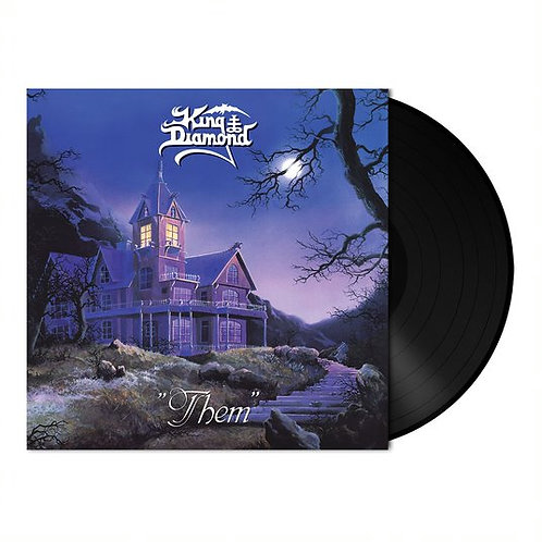 KING DIAMOND - Them - BLACK LP