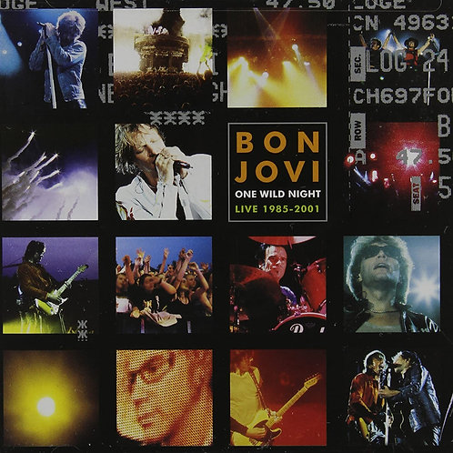 BON JOVI - ONE WILD NIGHT/LIVE 1985 2001 - CD