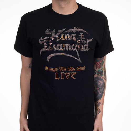 KING DIAMOND - Songs of the Dead Live - T shirt