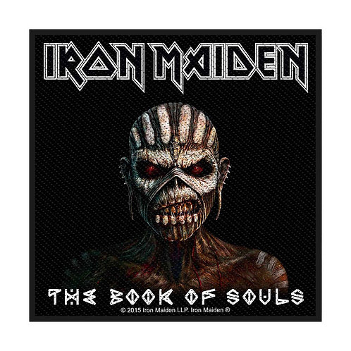 IRON MAIDEN - THE BOOK OF SOULS - OFFICIEL WOVEN PATCH