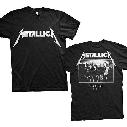 METALLICA - Damage 86 - OFFICIAL T shirt