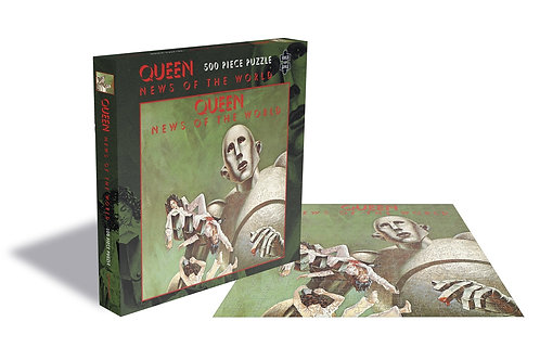 PUZZLE - QUEEN - NEWS OF THE WORLD - 1000 pcs