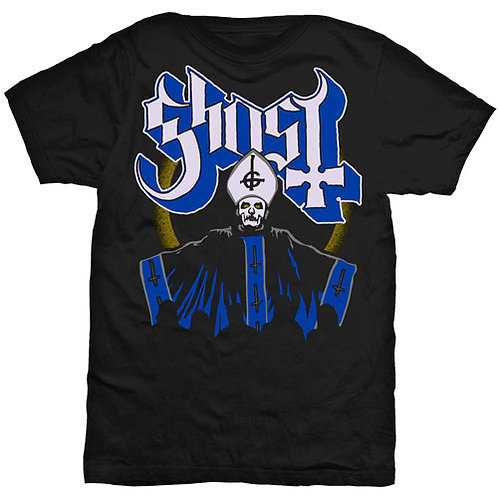 GHOST - PAPA and Band - Official T shirt