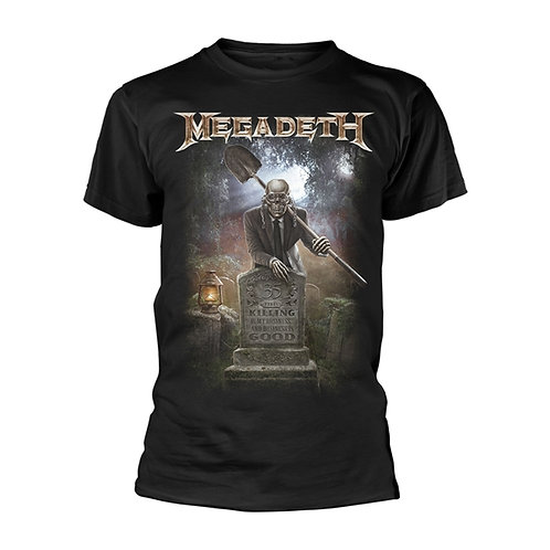MEGADETH - 35 Years Graveyard - OFFICIAL T shirt