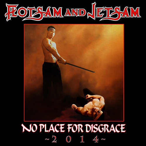 FLOTSAM AND JETSAM - No Place For Disgrace 2014  - CD