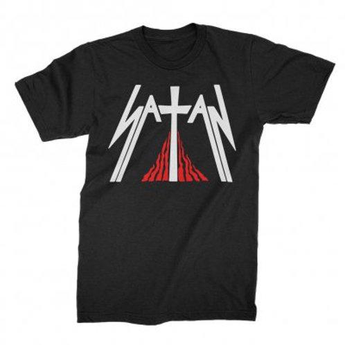 SATAN - Kiss Of Death - Official T shirt