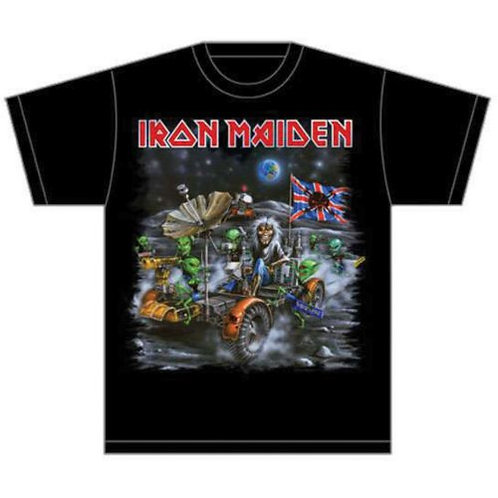 IRON MAIDEN - Knebworth Moon Buggy - Official T shirt