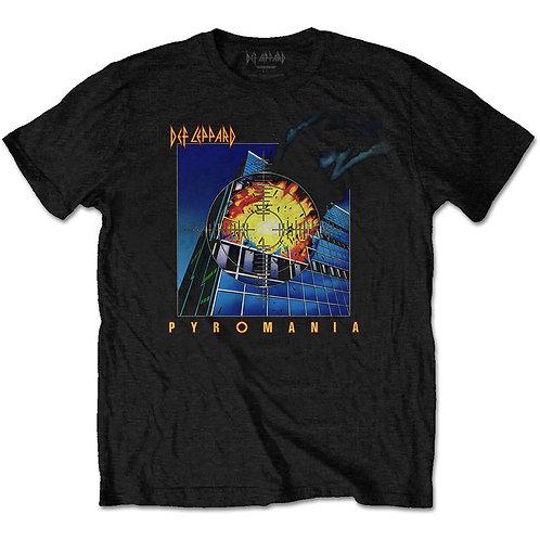 DEF LEPPARD - Pyromania - Official T-shirt