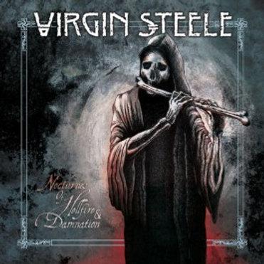 VIRGIN STEELE - NOCTURNE OF HELLFIRE DAMNATION - LP