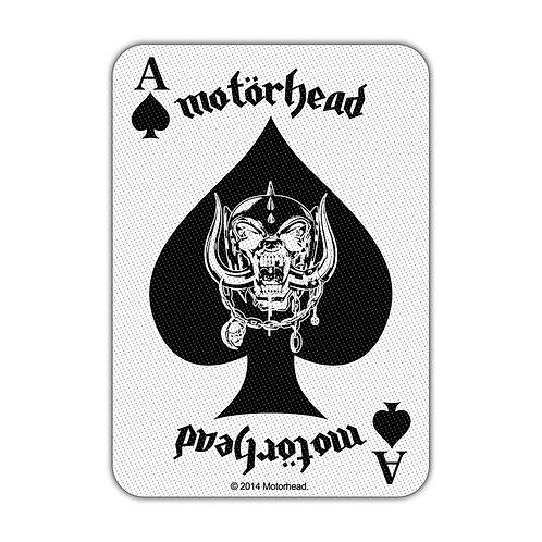 MOTORHEAD - CARD - OFFICIEL WOVEN PATCH