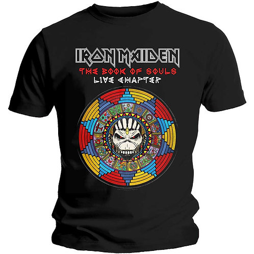 IRON MAIDEN - The Book Of Souls Live Chapter - Official T shirt