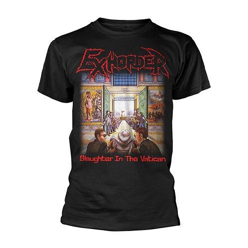 EXHORDER - Slaughter in the Vatican T shirt