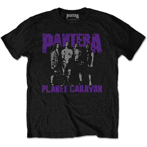 PANTERA - Planet Caravan - Official T shirt