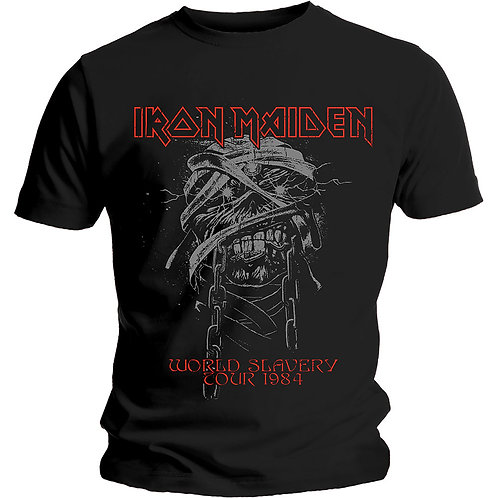 IRON MAIDEN - World Slavery 84 Tour - Official T shirt