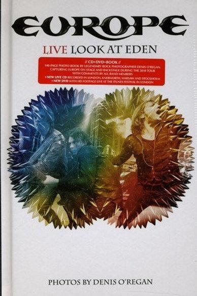 EUROPE - LIVE LOOK AT EDEN  - DIGIBOOK PHOTOS CD/DVDVD