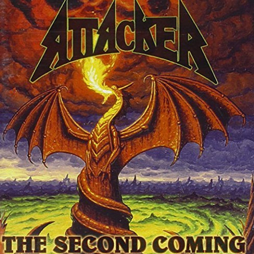ATTACKER - The Second Coming - CD