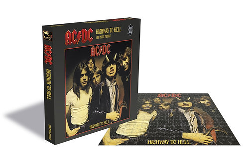 PUZZLE - AC/DC - HIGHWAY TO HELL - 1000 PCS