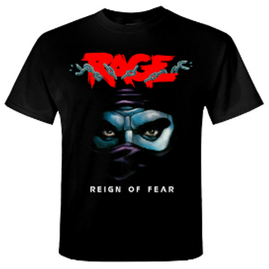 RAGE - Reign Of Fear -  T shirt