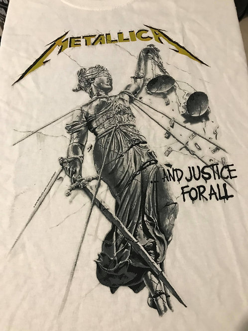 METALLICA - AND JUSTICE FOR ALL - WHITE