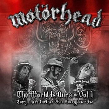 MOTORHEAD - The World Is Ours - Vol 1 - 2CD/DVD