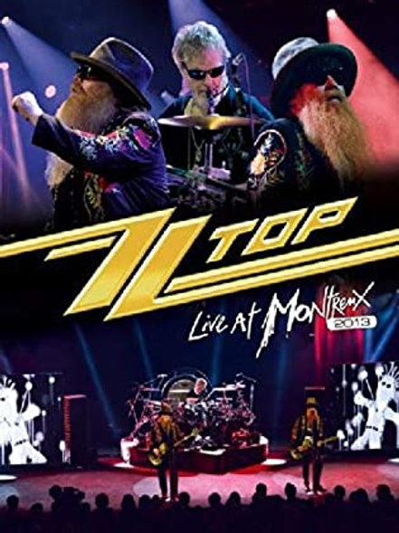 ZZ TOP - LIVE AT MONTREUX 2013 - DVD
