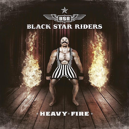 BLACK STAR RIDERS  - Heavy Fire  - DIGIBOOK CD