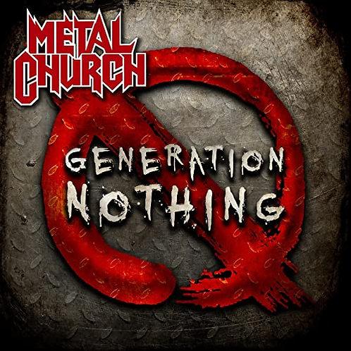 METAL CHURCH  - Generation Nothing - DIGI CD