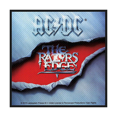 AC/DC - The Razors Edge - OFFICIEL WOVEN PATCH