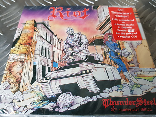 RIOT - Thundersteel 30th Anniversary Edtion - DIGIPACK CD/DVD