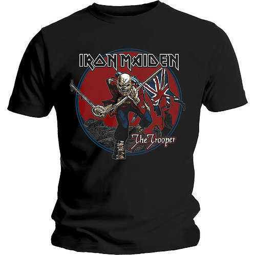 IRON MAIDEN - The Trooper - Official T shirt