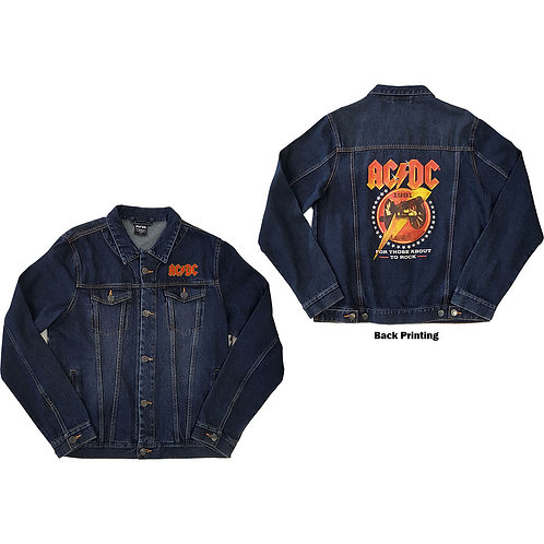 DENIM JACKET - AC/DC - FOR THOSE ABOUT TO ROCK