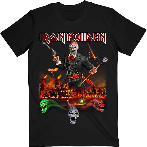 IRON MAIDEN - Nights Of The Dead  - T shirt