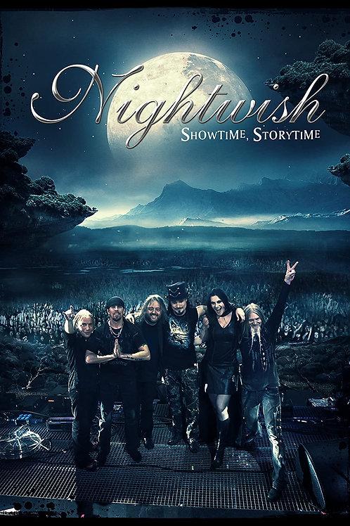NIGHTWISH - SHOWTIME, STORYTIME - BOOK 2CD + 2 DVD