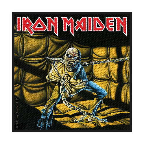 IRON MAIDEN - PIECE OF MIND - OFFICIEL WOVEN PATCH