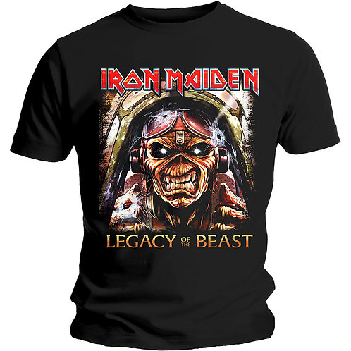 IRON MAIDEN - Legacy Aces- Official T shirt