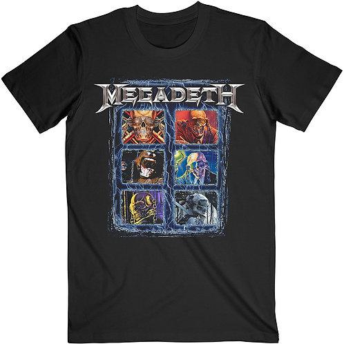 MEGADETH - Vic Head Grid