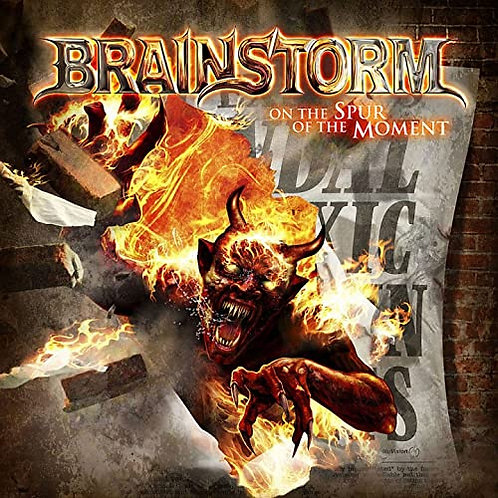 BRAINSTORM - ON THE SPUR OF THE MOMENT - DIGI CD