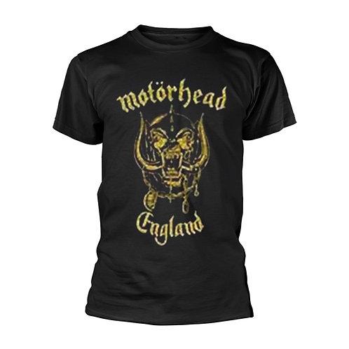 MOTORHEAD - England Classic Gold - T shirt
