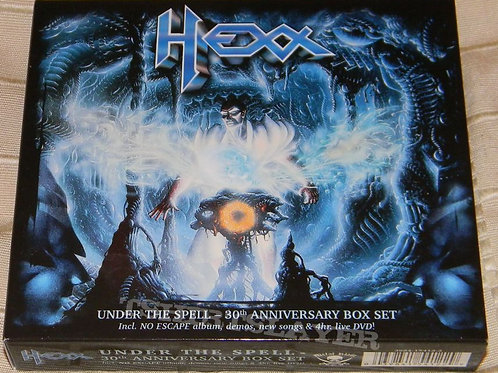 HEXX - Under the spell - 30 th anniversary Box Set