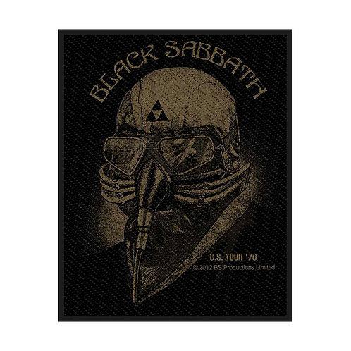 BLACK SABBATH - US TOUR 76 - OFFICIEL WOVEN PATCH