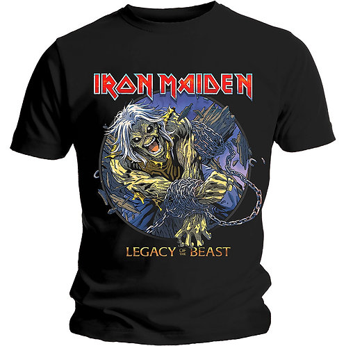 IRON MAIDEN - Eddie Chains Legacy - Official T shirt